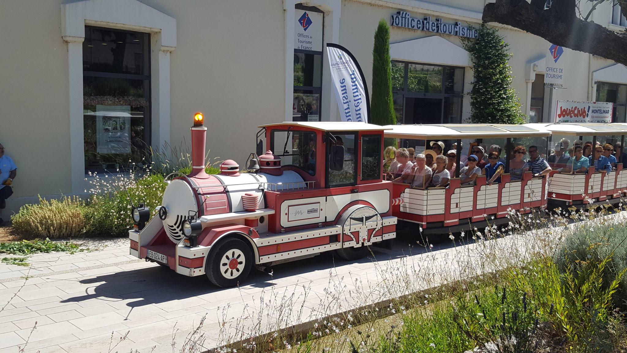 Petit train touristique - Bienvenue en Drôme provençale, Montélimar tourisme