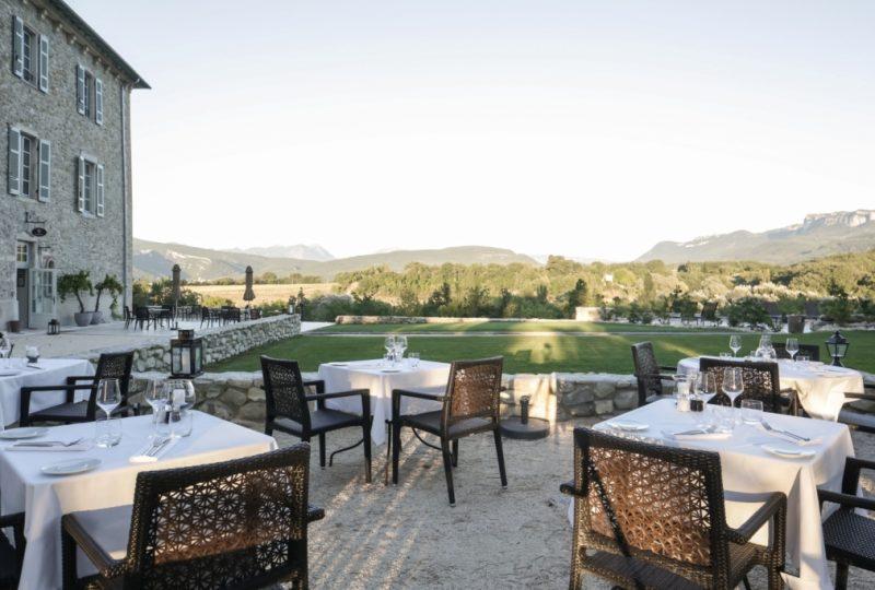 Restaurant Château les Oliviers de Salettes à Charols - 23