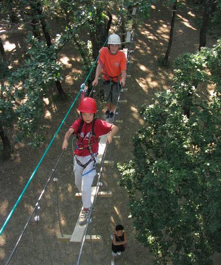 Parcours d'Aventure la Forêt de Robin à Marsanne - 2