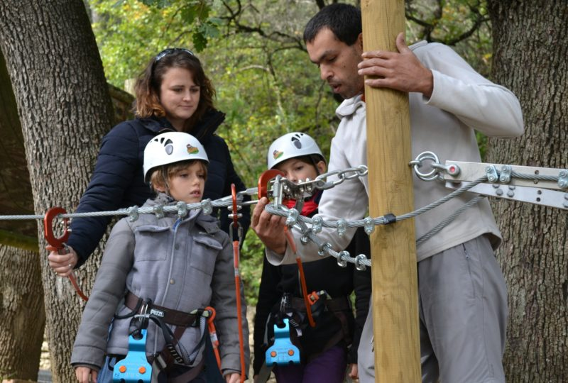 Parcours dans les arbres avec Joncas Aventure à Le Teil - 7