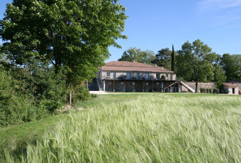 Hôtel Château les Oliviers de Salettes à Charols - 50