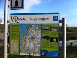 Via Rhôna, étape 15 : de Le Pouzin / Cruas à Chateauneuf du Rhône / Viviers à Montélimar - 0