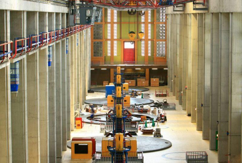 Centrale hydroélectrique André Blondel CNR à Bollène - 4