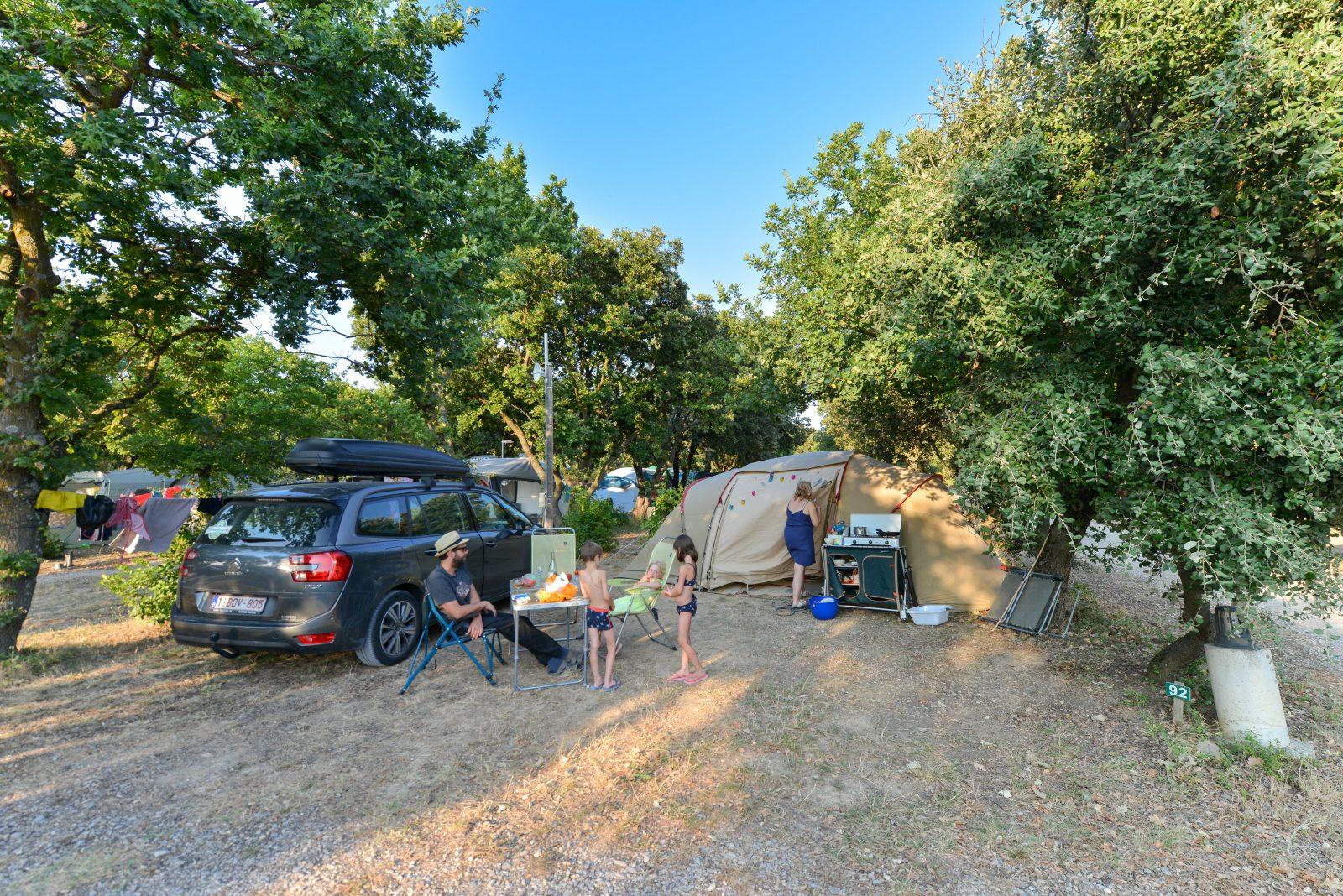 Camping le Garrigon à Grillon - 11