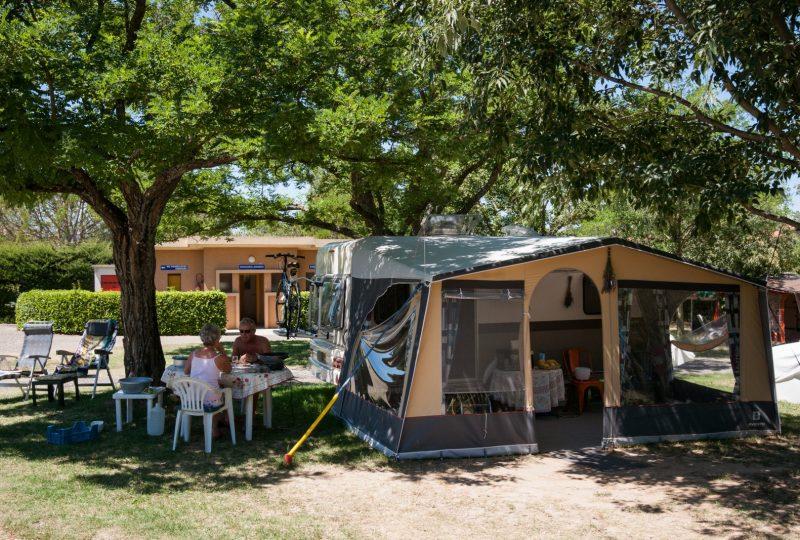 Camping de la Graveline à Châteauneuf-du-Rhône - 1
