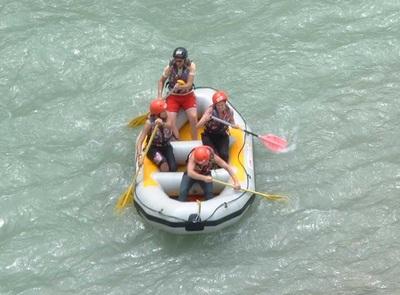 Canoë Kayak et mini raft avec Canoë Drôme à Saillans - 1