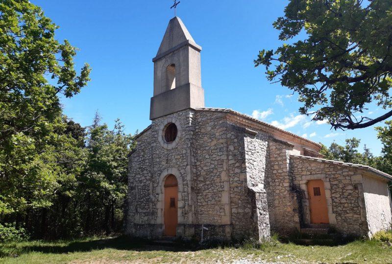 La Chapelle de Montceau à Espeluche - 2